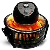Geepas Turbo Halogen Oven 12 litres & Accessories | 60 Minutes Timer