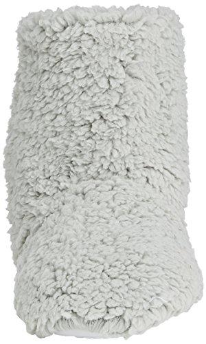 Pantofola Per Donna Su Stivaletti Morbidi, Pantofole Per Donne Grigio - Grigio (grigio)