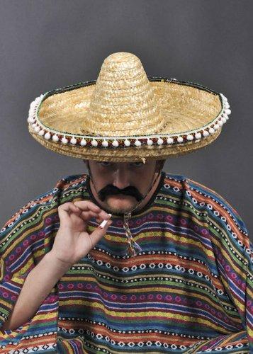 Sombrero paja mexicano auténtico