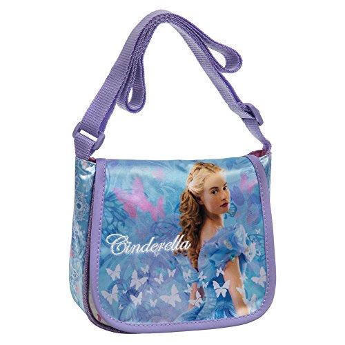 Disney Umhängetaschen Cinderella, 15 cm, (Mehrfarbig) (Cinderella Tasche)