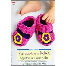 Crea Con Patrones Serie Patucos 1. Patucos Para Bebés Tejidos A Ganchillo (Cp -