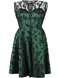 Voodoo Vixen Emerald Robe vert