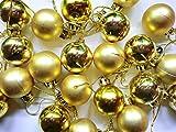 Christbaumkugeln 3cm gold matt/glanz 24 Stück