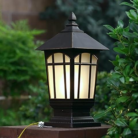 Stigma Luci Luce a muro Luce a muro Luci da giardino impermeabile post luce luci Ringhiere di fuori della luci di