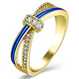 Best Knot Ring - Yellow Chimes Royal Love Knot Gold Plated Ring Review