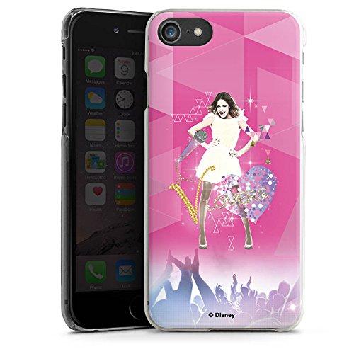 Apple iPhone SE Hülle Case Handyhülle Disney Violetta Fanartikel Geschenke Hard Case transparent