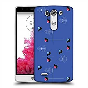 Snoogg bird blue 2450 Designer Protective Back Case Cover For LG G3 BEAT STYLUS
