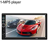 ‏‪JKoYu Car Stereo and Car Accessories 7018B 7 Inch Double Din Car FM Radio Bluetooth HD Reversing Camera USB/TF MP5 Player - *No Camera‬‏