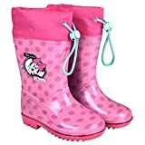 Perletti Minnie Mouse Bottines de Pluie Fille - Disney Minni Bottes Impermeables...