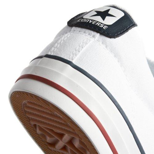 Converse Sp Core Canv Ox, Baskets mode mixte adulte Blanc