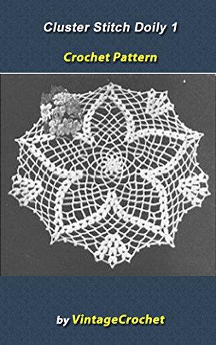 the-cluster-stitch-1-doily-vintage-crochet-pattern-english-edition