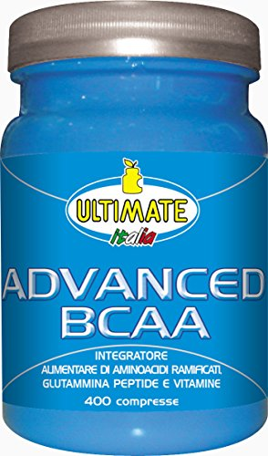 Ultimate Italia Advanced BCAA Aminoacidi Ramificati - 400 Caplets