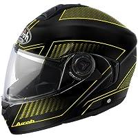 Airoh casco rdla31 Rides, tierra, color amarillo, tamaño XS