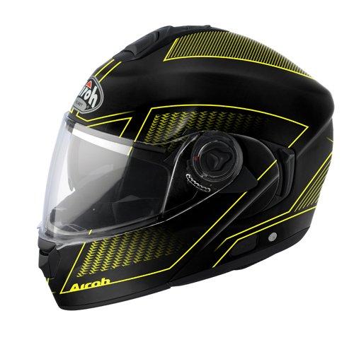 Airoh casco rdla31Rides, tierra, color amarillo, tamaño XL