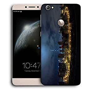 Snoogg Frozy Dubai Designer Protective Phone Back Case Cover For LETV 1S / Le-ECO 1S