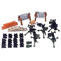 LoKauf Custom Weapons for Minifigures Military Figures SWAT Team Soldier Police Figures Set