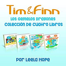 Tim y Finn, los Gemelos Dragones - Colección De Cuatro Libros ...