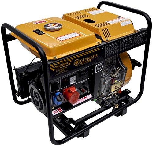 Generador eléctrico 6KW Trifásico - Diesel - Grupo
