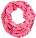 Playshoes Schlauchschal aus Fleece Sterne Softer Rundschal geeignet für kalte Tage, pink, one Size
