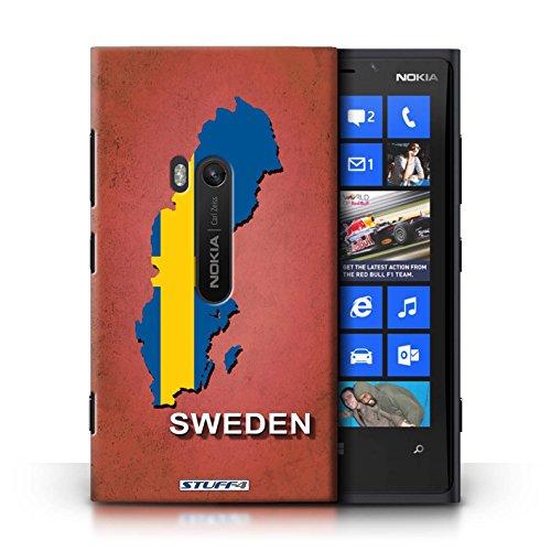 Kobalt® Imprimé Etui / Coque pour Nokia Lumia 920 / nouvelle Zélande conception / Série Drapeau Pays Suède/Suédois