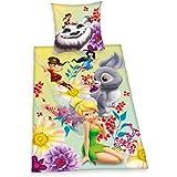 Herding 441948050 Bettwäsche Disneys Fairies, Kopfkissenbezug: 80 x 80 cm und Bettbezug: 135 x 200 cm, 100 % Baumwolle, Renforce