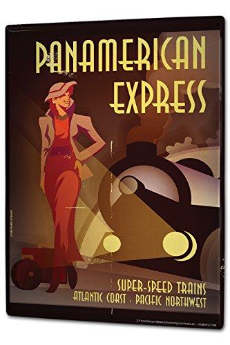 cartel-letrero-de-chapa-xxl-modelo-ferrocarril-panamericana-railway-express-nostalgia