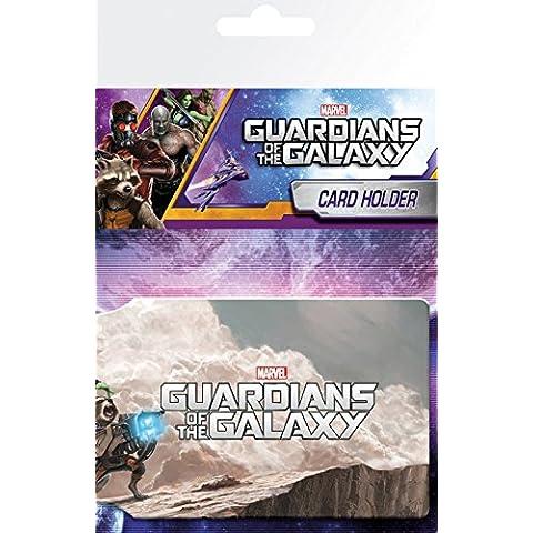 Guardianes De La Galaxia - Cast Tarjeteros Para Tarjetas De Crédito (10 x 7cm)