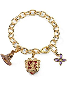 Noble Collection NN7708Harry Potter-Armband, Talisman Lumos Gryffindor