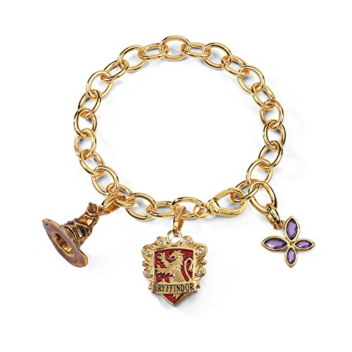Noble Collection nn7708 - Harry Potter Pulsera Talismán Lumos Gryffindor