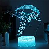 Fortnit Llama 3D Lamp Touch Poke Lamps Base Night Light For Birthday Holiday Regalo de Navidad