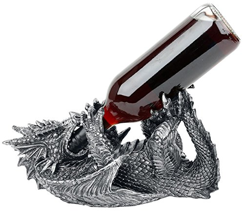 Nemesis Guzzler Dragon Wine Bottle Holder by Nemesis Now