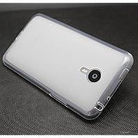 Prevoa ® 丨 Silicona TPU Funda Cover Case para Meizu MX4 PRO 5.5 Pulgadas Smartphone - Blanco