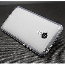 Prevoa ® 丨Meizu MX4 PRO Funda - Silicona TPU Funda Cover Case para Meizu MX4 PRO 5.5 Pulgadas Smartphone - Blanco