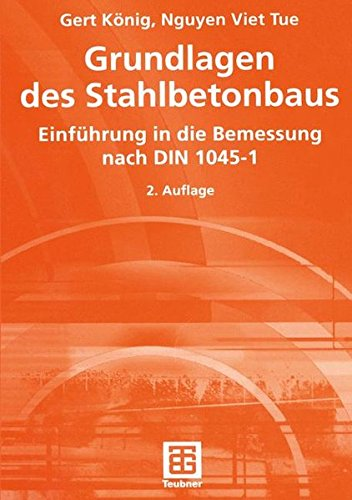 Grundlagen Des Stahlbetonbaus par Gert Konig
