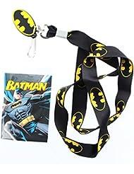 Logo de Batman negro Lanyard w/Logo encanto