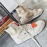 LOVDRAM Zapatos para Hombre Otoño E Invierno Calzado Alto para Hombre...
