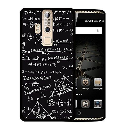 WoowCase ZTE Axon Elite Hülle, Handyhülle Silikon für [ ZTE Axon Elite ] Mathematische Formeln Handytasche Handy Cover Case Schutzhülle Flexible TPU - Schwarz