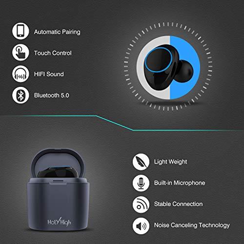 Zoom IMG-1 holyhigh auricolari bluetooth sport wireless