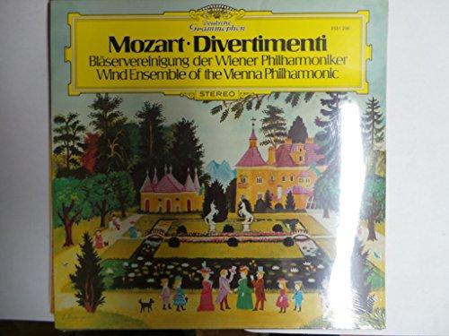 MOZART, Wolfgang Amadeus: Divertimenti fur 2 oboen, 2 horner und 2 fagotte, Kv. 213, 240, 253, 270 -- DEUTSCHE GRAMMOPHON (1980)Wind Ensemble of the Vienna Philharmonic OrchestraDGG 2531296