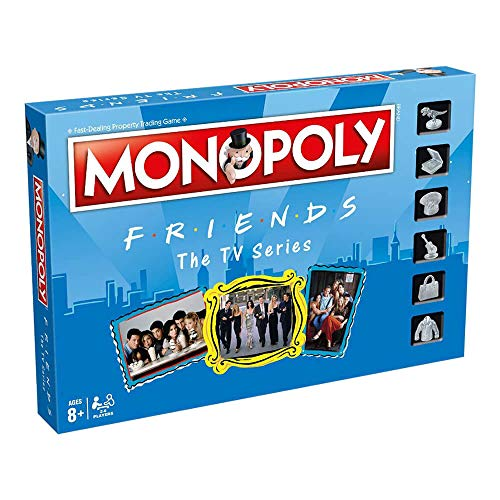 Winning Moves- Monopoly Friends, (Eleven Force 12135)