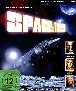 Cosmos 1999 / Space: 1999 (Ep. 1-48) - 4-Disc Box Set [ Origine Allemande, Sans Langue Francaise ] (Blu-Ray)