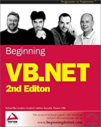 Beginning VB.NET, Second Edition by Matthew Reynolds (2002-08-02)