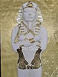 ANUBIS STEHLAMPE ÄGYPTEN MYTHOLOGIE Krieger Ägyptische Figuren Figur der Antike Lampe Anubis Pharaonen Tutanchamung Ägyptische Figur Tutanchamun Pharao Statue Skulptur Dekofigur (TOP ANGEBOT) 2857 (K108)