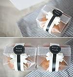 Yunko Kunststoff-Taschen für Kekse, Kuchen, Schokolade, Süßigkeiten, Snacks, mit Aufkleber,...
