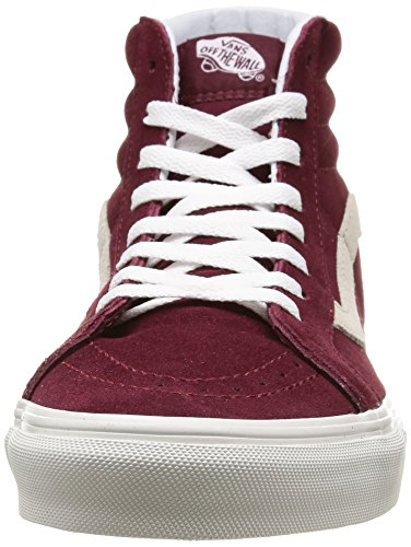 Vans U Sk8-Hi Reissue Vintage, Baskets Basses Mixte Adulte Rouge (Vintage/Windsor Wine/Blanc)