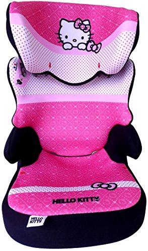 Preisvergleich Produktbild DISNEY HELLO KITTY BEFIX AUTOSITZ 15-36 KG KinderSitz GRUPPE II/III BABY SEAT NEU/OVP*ADAC+GRATIS STICKER