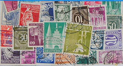 50-deutsche-post-l84-stamps
