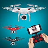 RC HD Quadcopter Camera, Foldable FPV Drone, Headless Mode RTF Helicopter, TUDUZ Brand New Wide Angle Lens HD Camera Quadcopter RC Drone WiFi FPV Live Helicopter Hover Drone RC Toys Gift