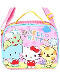 Hello Kitty Insulated Cooler Bag Lunch Box Case Tote Shoulder Bag