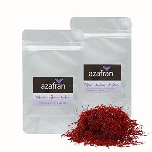 Azafran Safranfäden, Safran in Fäden - Premium Qualität 10g
